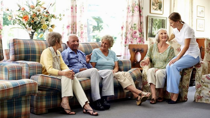 How to open an old age home with all facilities?